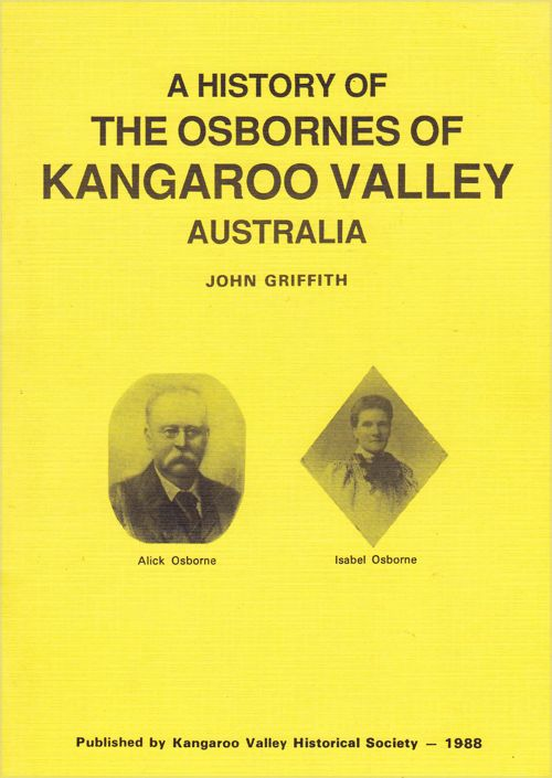 A History of the Osbornes of Kangaroo Valley