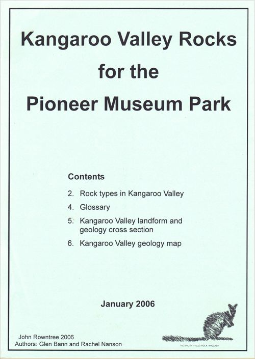 Kangaroo Valley Rocks for the Pioneer Museum Park